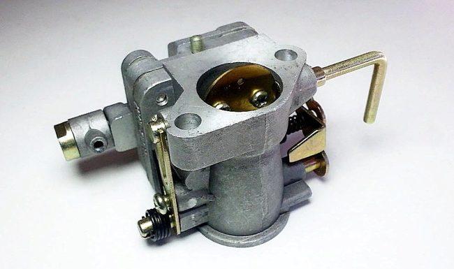 карбюратор кмп-100у вид сверху
