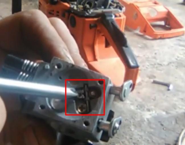 ремонт карбюратора хускварна 365
