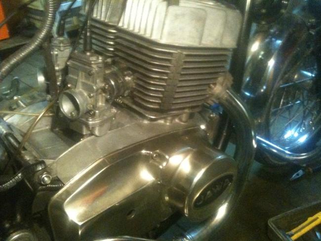 двигатель мотоцикла ява